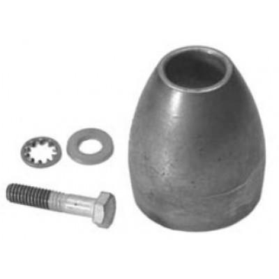 Анод, алюминий (гайка гребного винта)