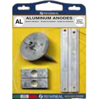 Комплект анодов, алюминий (Mercury 75 - 115 EFI (4-такт.))