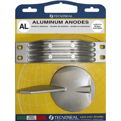 Комплект анодов, алюминий (Yamaha 150 - 225 л.с.)