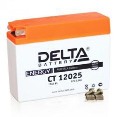 Аккумулятор Delta (12 В, 2,5 А●ч, 113x38x87 мм)