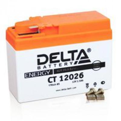 Аккумулятор Delta (12 В, 2,5 А●ч, 114x49x86 мм)