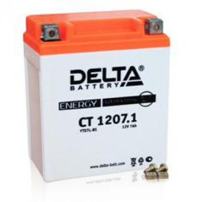 Аккумулятор Delta (12 В, 7 А●ч, 114x71x131 мм)