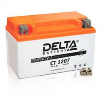 Аккумулятор Delta (12 В, 7 А●ч, 152x87x95 мм)