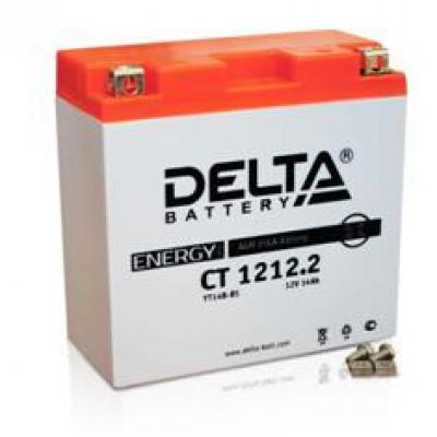 Аккумулятор Delta (12 В, 12 А●ч, 152x70x150 мм)
