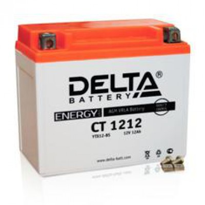 Аккумулятор Delta (12 В, 12 А●ч, 151x87x130 мм)