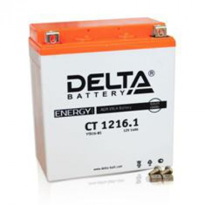 Аккумулятор Delta (12 В, 16 А●ч, 151x88x164 мм)
