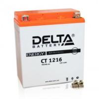Аккумулятор Delta (12 В, 16 А●ч, 207x71,5x164 мм)