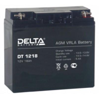 Аккумулятор Delta (12 В, 18 А●ч, 177x88x154 мм)