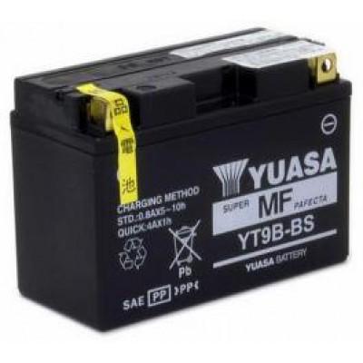 Аккумулятор Yuasa YT9B-BS (12 В, 8 А●ч, 150х70х105 мм)