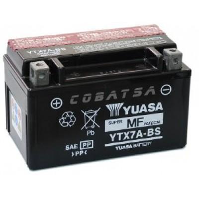 Аккумулятор Yuasa YTX7A-BS (12 В, 6 А●ч, 150х87х94 мм)