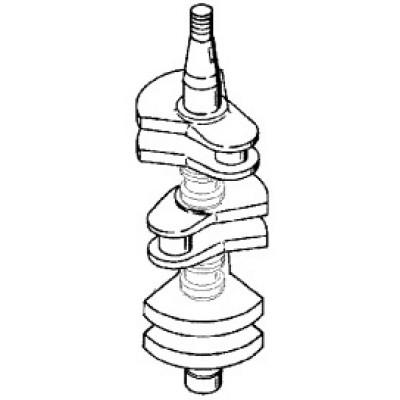 Коленчатый вал для Mercury 55, 60 (2Т, 3-цил.)