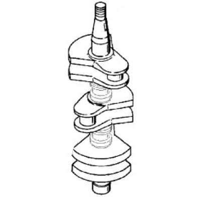 Коленчатый вал для Mercury 40, 50 (2Т, 3-цил.)