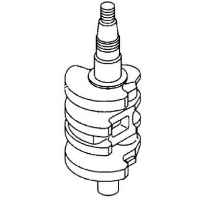 Коленчатый вал для Mercury 15, 20 (4Т)