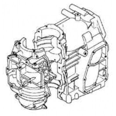Блок цилиндров для Mercury 25 - 30 (Япония)