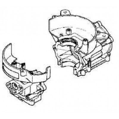 Блок цилиндров для Mercury 4 - 5 (2Т)