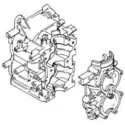 Блок цилиндров для Mercury 30 - 40