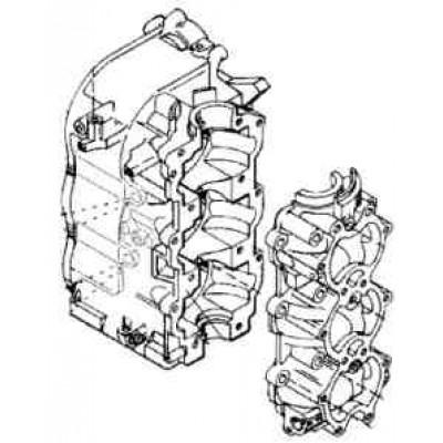 Блок цилиндров для Mercury 40 - 50