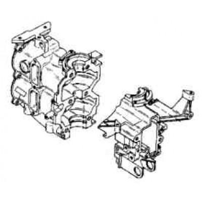 Блок цилиндров для Mercury 8 (2Т)