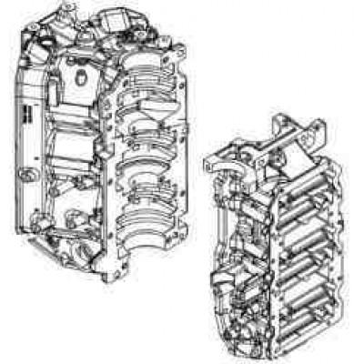 Блок цилиндров для Mercury 135 DFI - 150 DFI