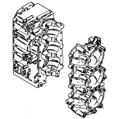 Блок цилиндров для Mercury 75 - 90 (3-цил.)