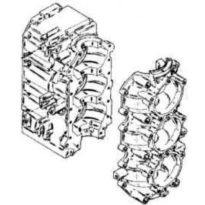 Блок цилиндров для Mercury 75 - 90