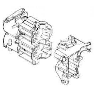 Блок цилиндров для Mercury 20 - 25 (2Т)