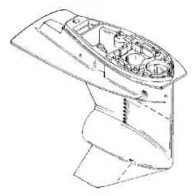 Корпус редуктора для Mercury 30 - 50