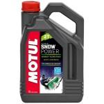 2-тактное полусинтетическое масло MOTUL Snowpower 2T, 4 л