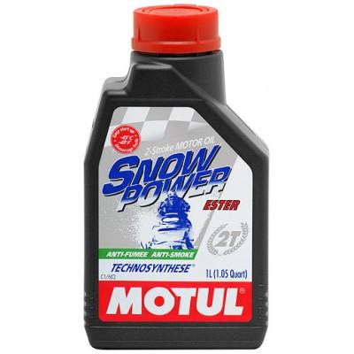 2-тактное полусинтетическое масло MOTUL Snowpower 2T, 1 л