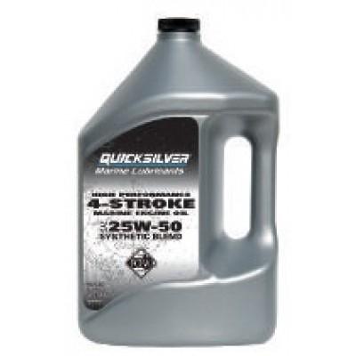 Синтетическое масло 25W-50 для любых 4-тактных моторов, 4 л