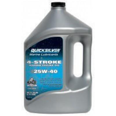 Минеральное масло 25W-40 для MerCruiser, 4 л