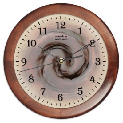 """Часы настенные с принтом """"Инферно"""", круглые"""