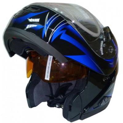 Шлем-модуляр RSV Saturn Blast (визор с подогревом)