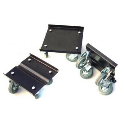 Подкатные тележки для снегохода (колеса 75 мм, 3 шт.)