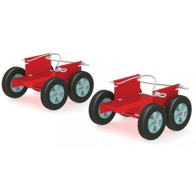 Подкатные тележки для снегохода (колеса 150 мм, 2 шт.)