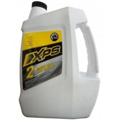 Минеральное 2-тактное масло BRP XPS, 4 л
