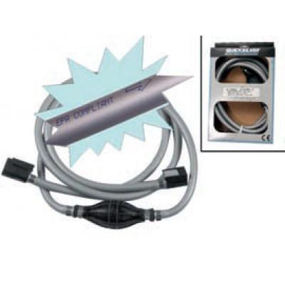 Топливопровод, 2,4 метра (Quick Connect - Quick Connect)