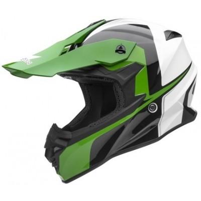 Кроссовый шлем Vega VF1 Stinger, зеленый