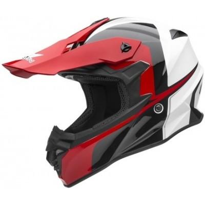 Кроссовый шлем Vega VF1 Stinger, красный