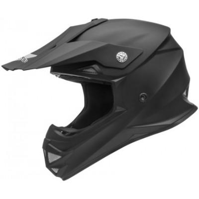 Кроссовый шлем Vega VRX, черный / белый