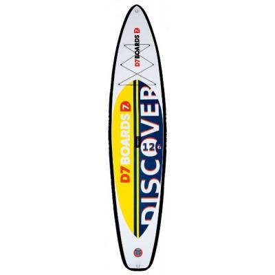 Туринговая SUP-доска D7 12.6 Discover (384 см, райдер до 145 кг)