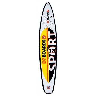 Гоночная SUP-доска D7 12.6 Race (384 см, райдер до 140 кг)