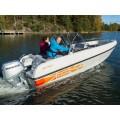 Пластиковая лодка Terhi 475 Twin С (две консоли, 4,75 м)