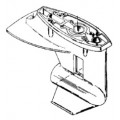 Корпус редуктора для Mercury 20 - 25