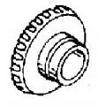 Ведомая шестерня переднего хода для Mercury 40 - 50