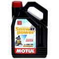 4-тактное синтетическое масло Motul Snowpower 4T, SAE 0W-40, 4 л
