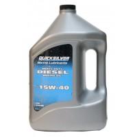 Масло Quicksilver 15W-40 для дизельных двигателей MerCruiser, 4 л