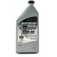 Полусинтетическое масло Q/S 25W-40 для 4-тактных подвесных моторов, 1 л